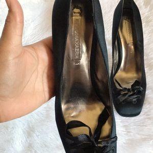BCBGMaxAzria Shoes - BCBG Maxazria lace up toe heels